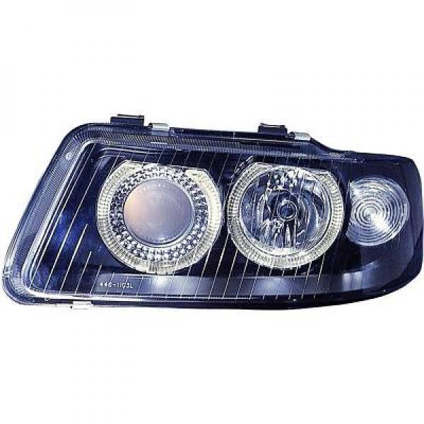Audi-A3-8L-00-03-Faróis-Angel-Eyes-Fundo-Preto