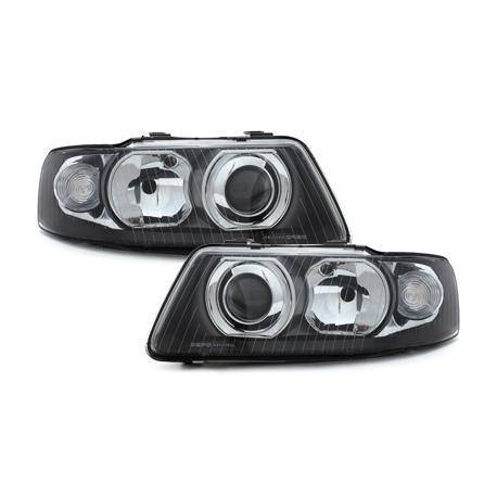 Audi-A3-8L-00-03-Faróis-Fundo-Preto