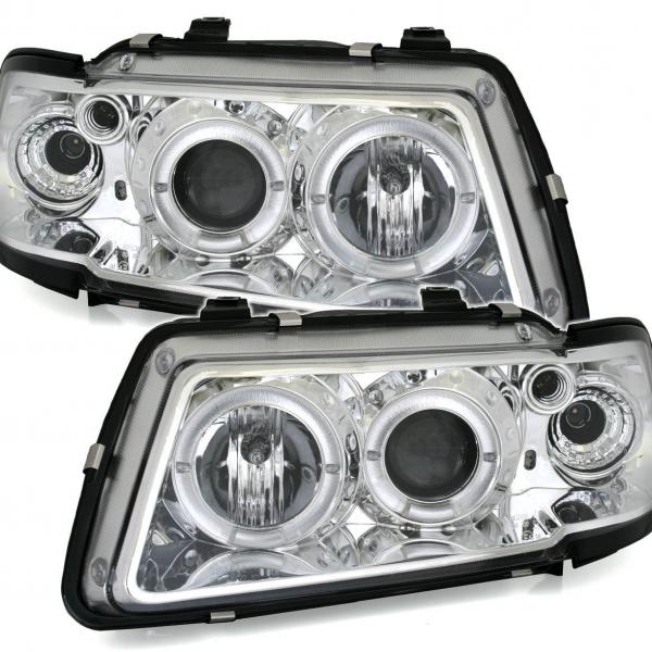Audi-A3-8L-96-00-Faróis-Angel-Eyes-Fundo-Cromado-1
