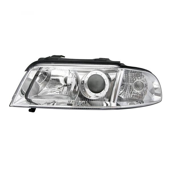 Audi-A4-B5-LimAvant-99-00-Farol-Esquerdo-tipo-Origem-Cromado-2