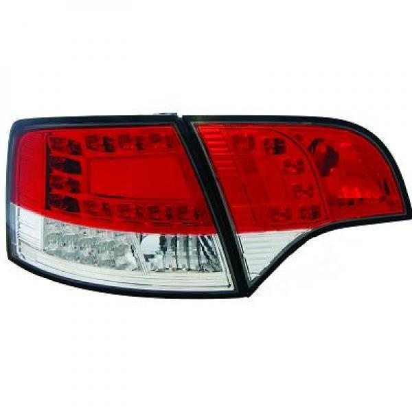 Audi-A4-B7-04-07-Farolins-Cristal-em-LED