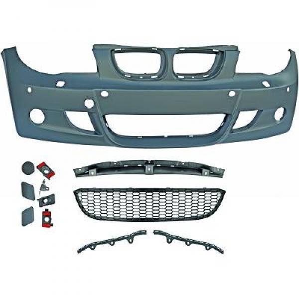 BMW-Serie-1-E81-E87-04-11-Parachoques-Frente-Pack-M-1
