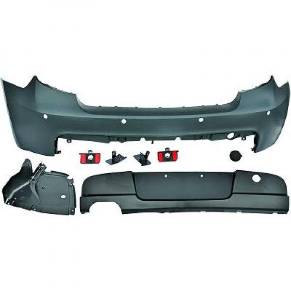 BMW-Serie-1-E81-E87-04-11-Parachoques-Trás-Pack-M-c-sensor