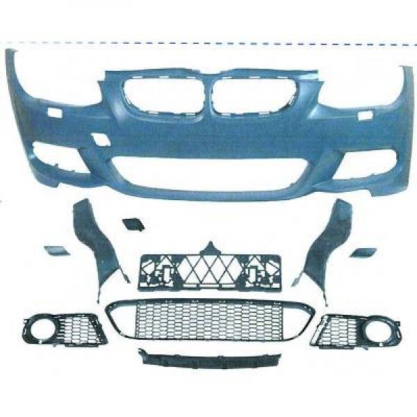 BMW-Serie-3-E92-LCI-Coupé-10-14-Parachoques-Frente-Pack-M