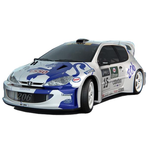 Peugeot-206-98-08-Kit-Abas-Guarda-Lamas-WRC