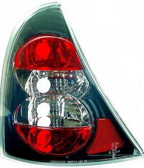 Renault-Clio-II-98-01-–-Farolins-Cristal-Preto