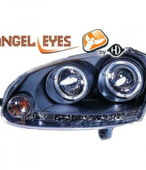 Volkswagen-Jetta-05-10-Faróis-Angel-Eyes-Preto