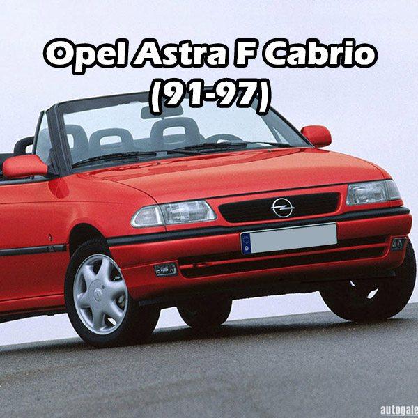 Opel Astra F Cabrio (91-97)