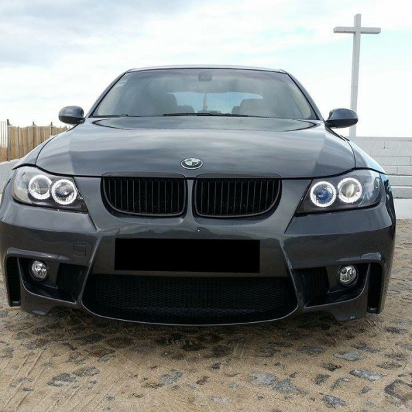 BMW-Serie-3-E90-05-08-Para-choques-Frente-Look-M1