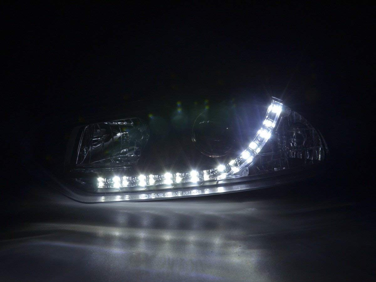 Alfa-Romeo-156-97-03-Faróis-Dayline-Fundo-Preto-3