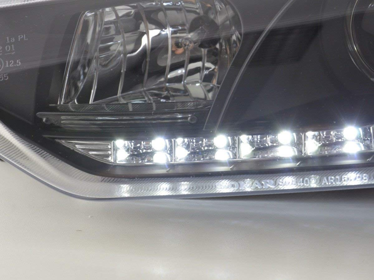 Alfa-Romeo-156-97-03-Faróis-Dayline-Fundo-Preto-5