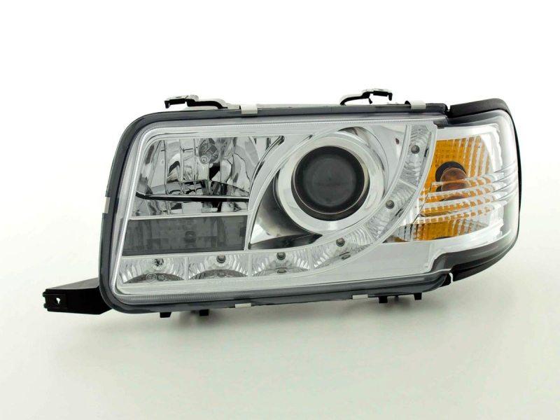 Audi-80-91-94-Faróis-Dayline-Fundo-Cromado-1