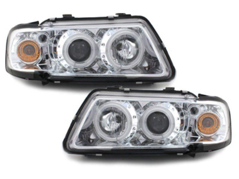 Audi-A3-8L-96-00-Faróis-Angel-Eyes-Fundo-Cromado-CCFL-1