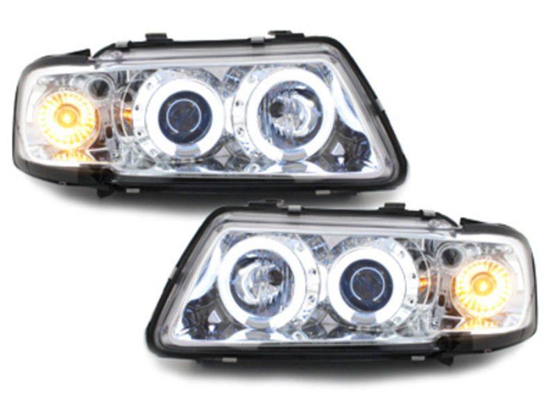 Audi-A3-8L-96-00-Faróis-Angel-Eyes-Fundo-Cromado-CCFL-3