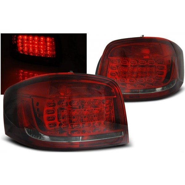 Audi-A3-8P3-08-12-Farolins-Escurecidos-Cristal-LED-1