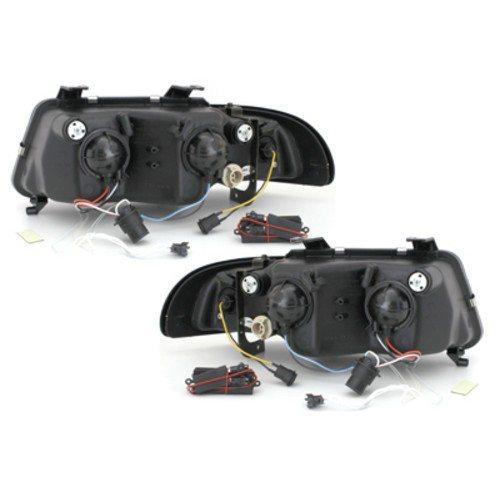 Audi-A4-B5-LimAvant-96-00-Faróis-Angel-Eyes-CCFL-Pretos-2