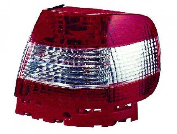 Audi-A4-B5-Limousine-94-00-Farolins-Cristal-Vermelho