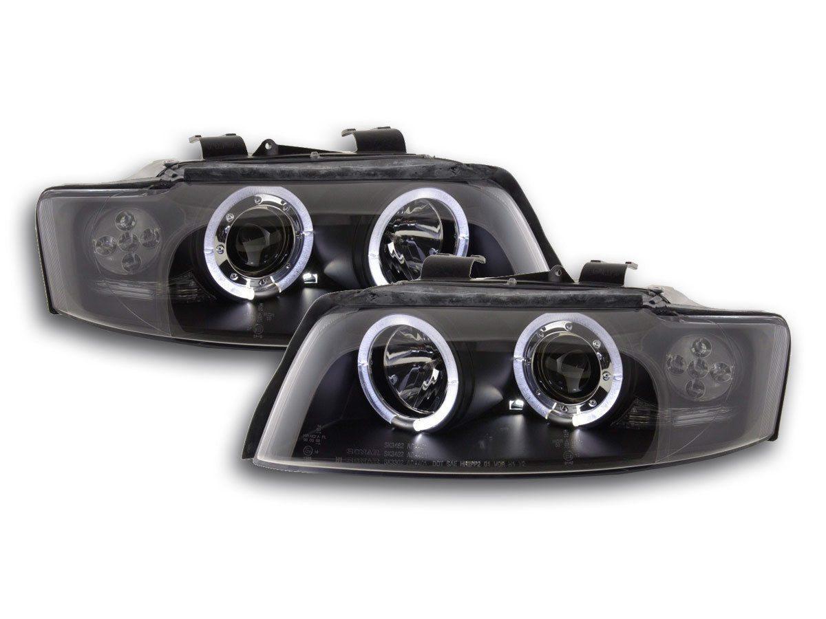 Audi-A4-B6-LimAvant-00-04-Faróis-Angel-Eyes-Pretos-3