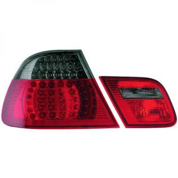 BMW-Serie-3-E46-Coupé-99-03-–-Farolins-Cristal-Escurecidos-em-LED
