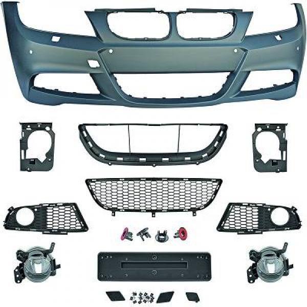 BMW-Serie-3-E91-LCI-08-11-Parachoques-Frente-Pack-M-c-sensor