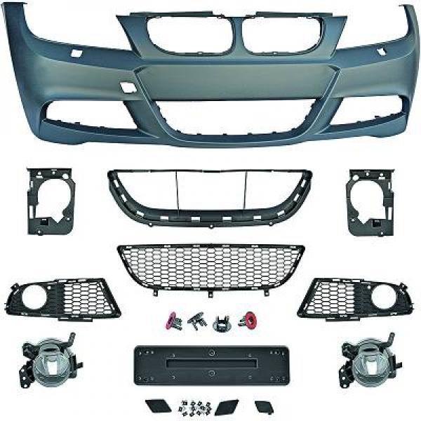 BMW-Serie-3-E91-LCI-08-11-Parachoques-Frente-Pack-M