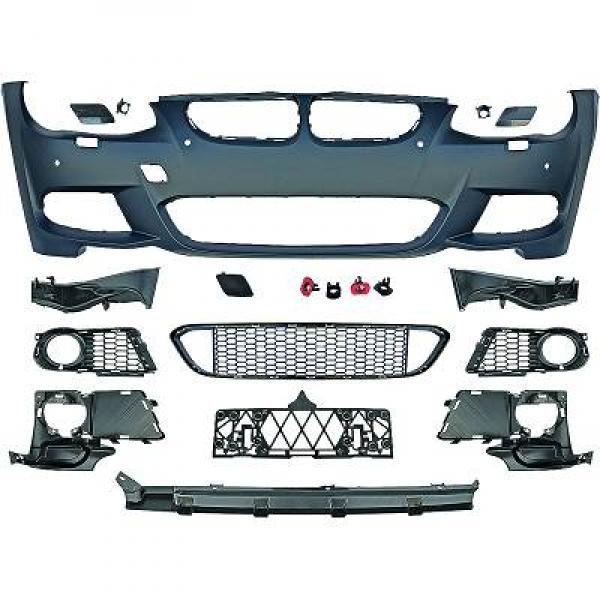 BMW-Serie-3-E92-LCI-Coupé-10-14-Pára-choques-Frente-Pack-M-c-sensor