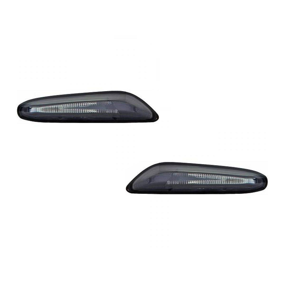 BMW-Serie-3-E92-LCI-Coupé-10-14-Piscas-Cristal-Laterais-Escurecidos-em-LED