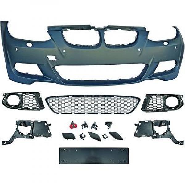 BMW-Serie-3-E93-Cabrio-06-10-Parachoques-Frente-Pack-M-c-sensor
