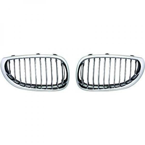 BMW-Serie-5-E60-03-10-Grelha-Central-Cromada-v2.0