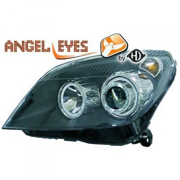 Opel-Astra-H-04-09-Faróis-Angel-Eyes-Preto