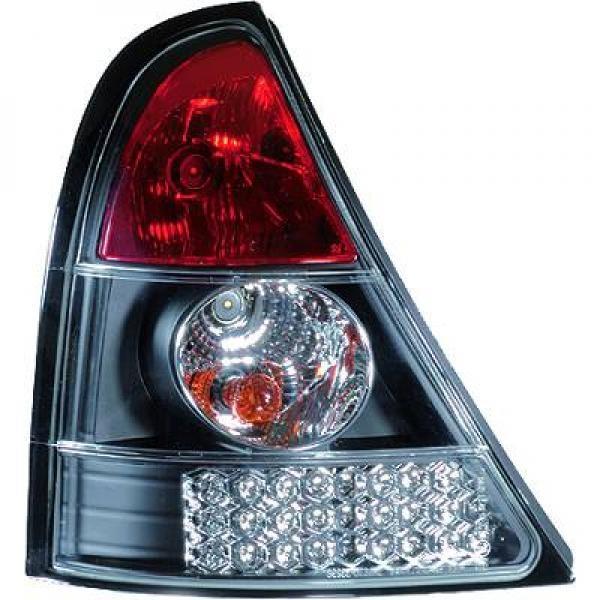 Renault-Clio-01-05-–-Farolins-Cristal-Preto-em-LED