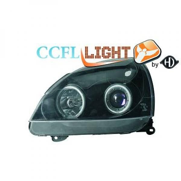 Renault-Clio-01-05-Faróis-Angel-Eyes-CCFL-Pretos