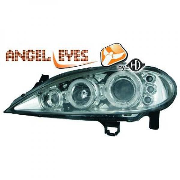 Renault-Mégane-99-02-Faróis-Angel-Eyes-Cromados