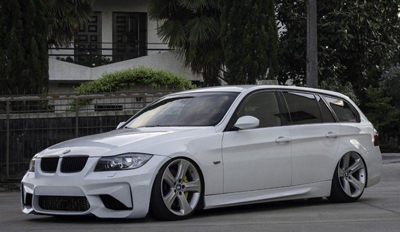 BMW-Serie-3-E90-05-08-Para-choques-Frente-Look-M2