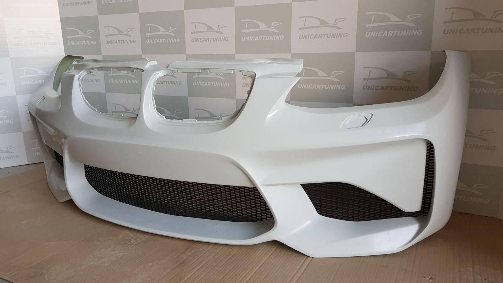 BMW-Serie-3-E92-Coupé-06-10-Para-choques-Frente-Look-M2-rede-3