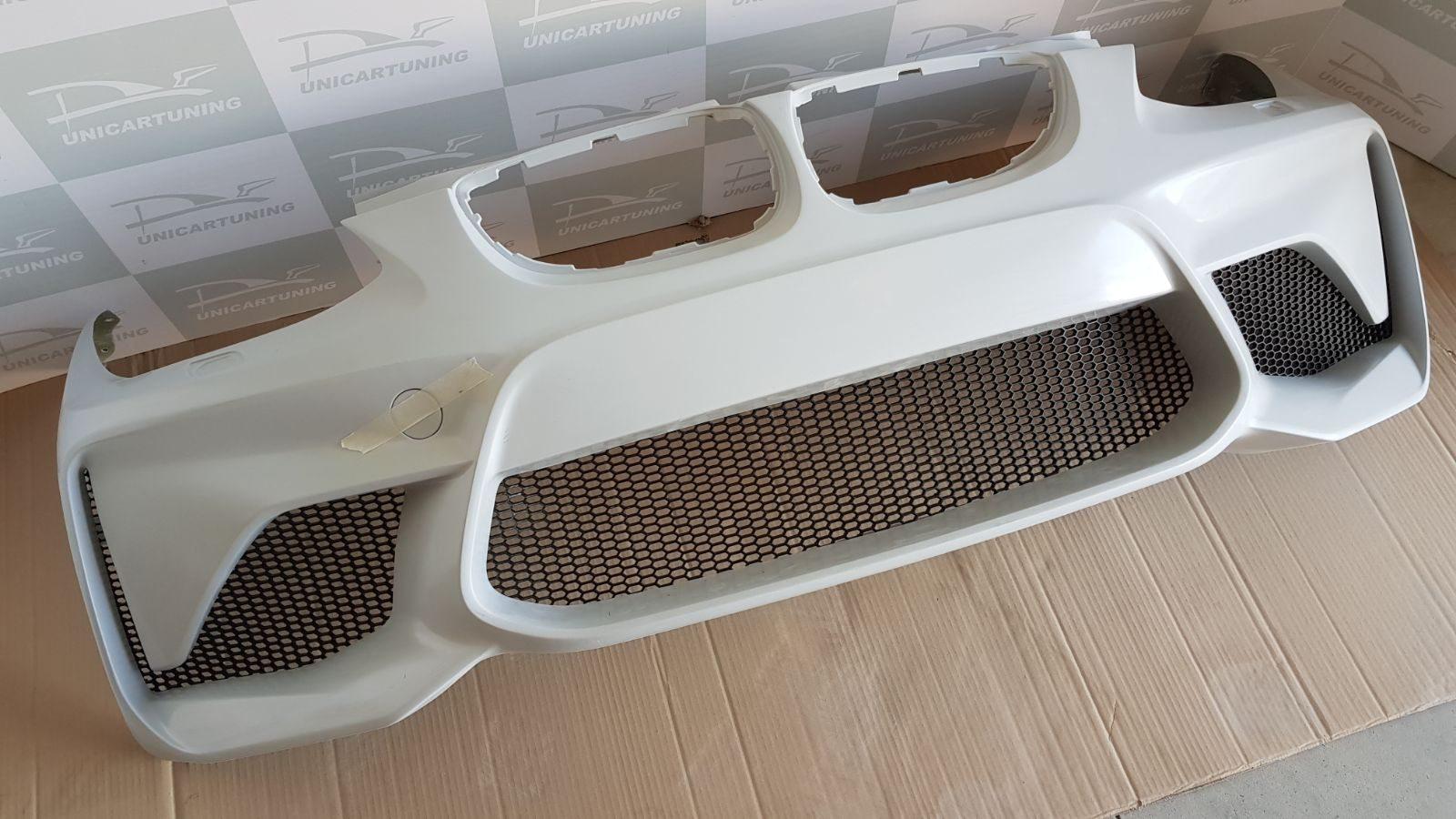 BMW-Serie-3-E92-Coupé-06-10-Para-choques-Frente-Look-M2-rede-5