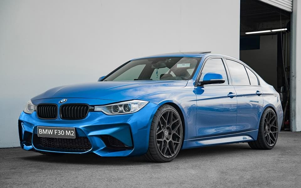 BMW-Serie-3-F30-11-15-Para-choques-Frente-Look-M2-1