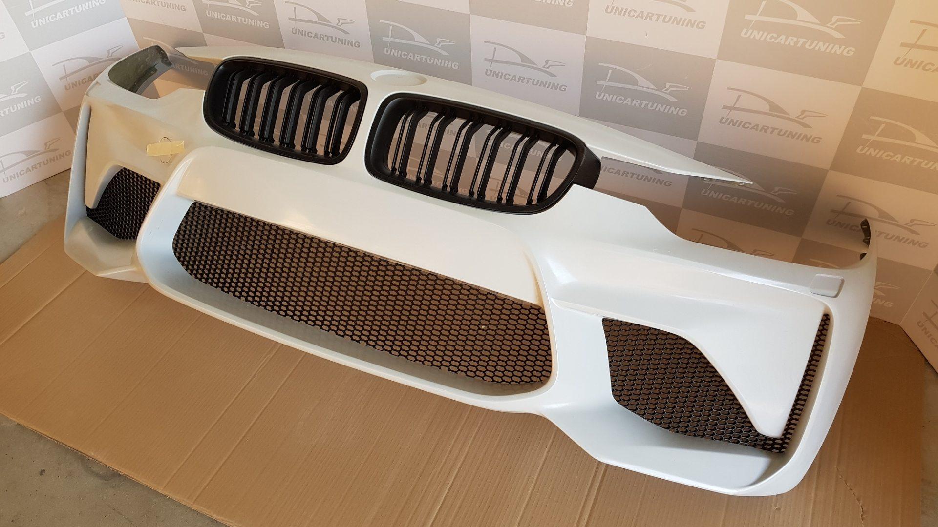 BMW-Serie-3-F30-11-15-Para-choques-Frente-Look-M2-3