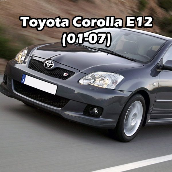 Toyota Corolla E12 (01-07)